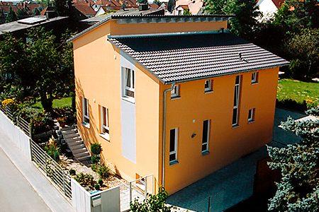 Pultdachhaus in Fürth